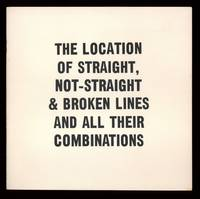 The Location of Straight, Not-Straight & Broken Lines and all their Combinations