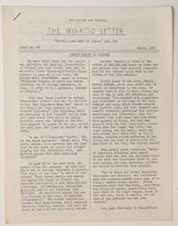 image of The Winrod Letter. No. 88 (April 1969). Jewish murder in Vietnam