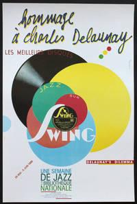 Hommage à Charles Delaunay [Swing, les meilleurs disques]. Une semaine de jazz à la Bibliothèque nationale, galerie Colbert, 29 mai - 5 juin 1986.