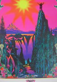 """""""Garden of Eden"""" Psychedelic Blacklight Poster"""