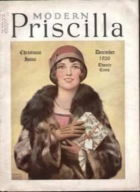 MODERN PRISCILLA ( DECEMBER 1926)  Magazine of Needlework, Homecraft &  Housekeeping