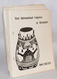image of First National Congress of Africanists; documents