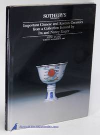 Important Chinese and Korean Ceramics from a Collection formed by Ira and  Nancy Koger (New York,...