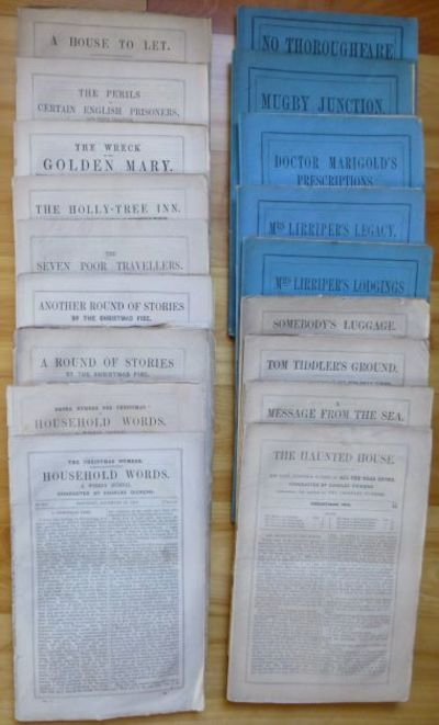 1850. This is a complete set Dickens's annual