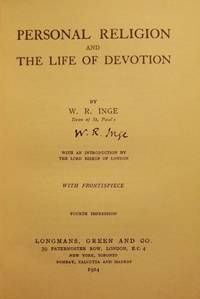 PERSONAL RELIGION AND THE LIFE OF DEVOTION