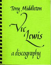 Vic Lewis A discography