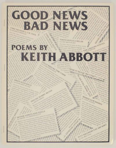 Monte Rio, CA: Doris Green Editions, 1984. First edition. Softcover. A collection of poems printed i...