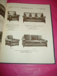 A FEW EXAMPLE OF CHAIRS SOFAS & SETTEES On View in the Showrooms of Maple & Co Ltd Tottenham Court Road, W. 1