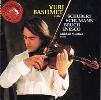Yuri Bashmet [violist] performs Schubert, Schumann, Bruch, and Enesco [CD - Music Compact Disc]