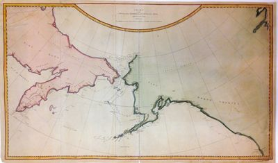 London: James Cook, 1784. unbound. Map. Engraving with modern hand coloring. Image measures 16