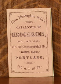 image of CHAS. MCLAUGHLIN AND CO'S CATALOGUE OF GROCERIES