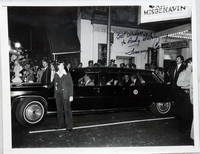image of 9 x 7 Inch Black and White Press Photograph, President Jimmy Carter Inscribed to Andy (Andrew) Hutch