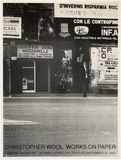 New York: Luhring Augustine, 1990. Fine condition.. Offset lithographic poster. 23 x 30 1/2 inches. ...