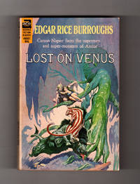 image of Lost on Venus - Carson Napier Faces the Supermen and Super-Monsters of Amtor. Ace Books # 49501, Circa 1960. Frank Frazetta Cover