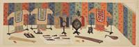 KYUGI  SOHSHOKU  JUUROKU-SHIKI  ZUFU (SIXTEEN ILLUSTRATIONS OF DECORATIONS FOR TRADITIONAL CEREMONIES). by  FURUYA KORIN - Hardcover - 1933 - from marilyn braiterman rare books (SKU: 004569)
