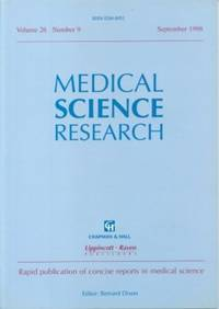 Medical Science Research  Vol. 26, No. 9, September 1998