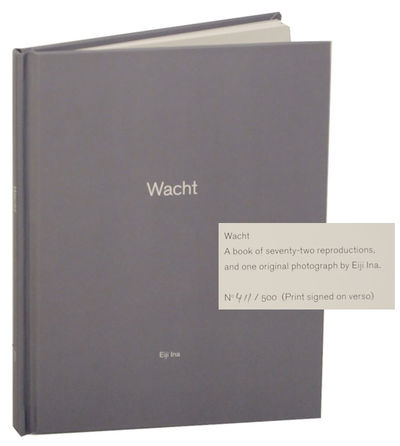 Portland, OR: Nazraeli Press, 2010. First edition. Small hardcover. The 62nd entry in the One Pictur...