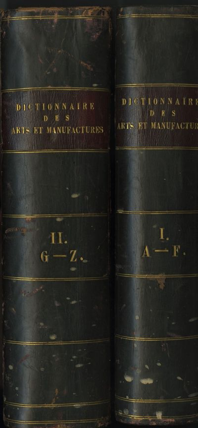 Paris: Librairie Scientifique-Industrielle de L. Mathias (Augustin), 1847. 2 volumes. Thick 4tos., u...