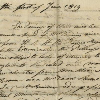 01/06/1819. Caroline of Brunswick|George IV Caroline's father was the ruler of Brunswick-Wolfenbü...