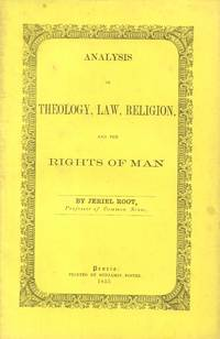 Analysis of Theology, Law Religion, and the Rights of Man