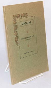 image of Manual: San Diego High School, San Diego California, 1918 - 1919