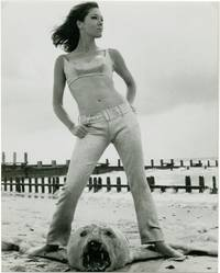 Diana Rigg in fashion promo shot for The Avengers (Original photograph)