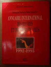ANNUAIRE INTERNATIONAL DES OEUVRES & OBJETS D'ART VOLES International Yearbook of Stolen...