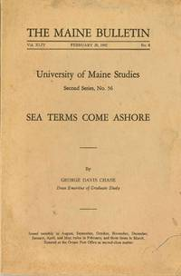 Sea Terms Come Ashore