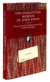 The Forgotten Memoir of John Knox. Hardcover. New