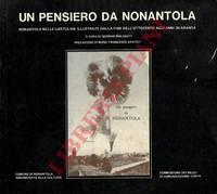Un pensiero da Nonantola. Nonantola nelle cartoline illustrate dalla fine dell\'ottocento agli anni quaranta.
