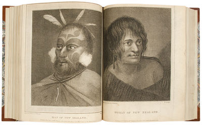 London: W. Strahan and T. Cadell, 1777. 2 volumes, 4to. (11 x 8 5/8 inches). Engraved portrait of Co...