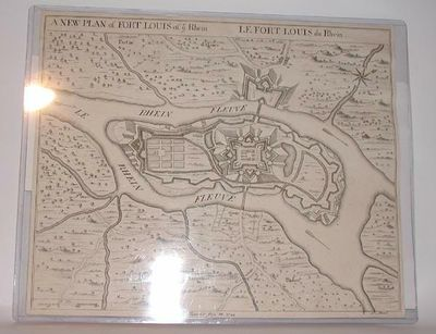July 28, 1744. A map in fine to near fine condition professionally washed and backed under the super...