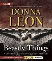 image of Beastly Things   (Commissario Guido Brunetti Mysteries) (Commissario Guido Brunetti Mysteries (Audio))