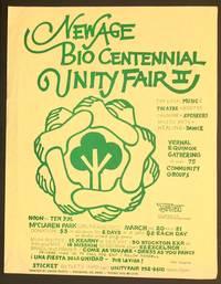 image of New Age Bio Centennial Unity Fair II [handbill]