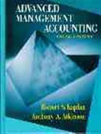 advanced management accounting by kaplan pdf