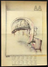 Calendrier-Affiche pour L'Architecture d'aujourd'hui, 1979