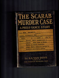 The Scarab Murder Case ; A Philo Vance Story by  S.S Van Dine - First Edition - 1930 - from Dale Steffey Books (SKU: 005625)