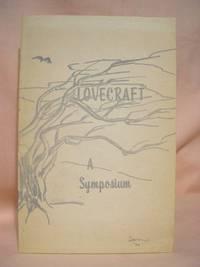 H.P. LOVECRAFT: A SYMPOSIUM