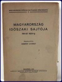 MAGYARORSZAG IDOOSZAKI SAJTOJA, 1911-tol 1920-ig.