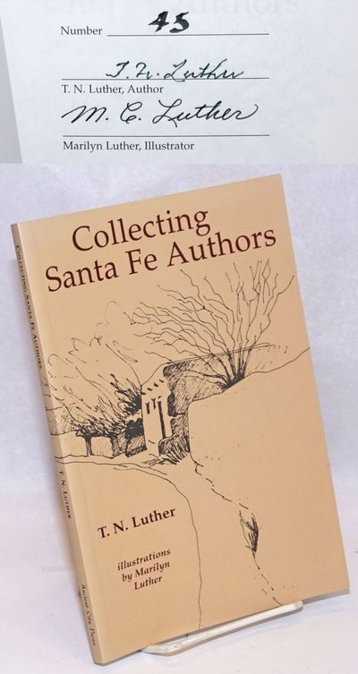 Santa Fe: Ancient City Press, 2002. Paperback. x, 99p., foreword, preface, introduction, illustratio...