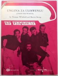 """Signed Sheet Music -- """"Ungena Za Ulimwengu (Unite the World)"""
