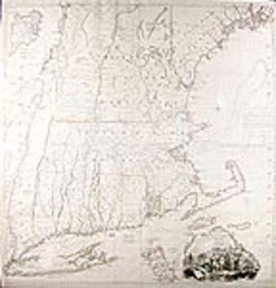 Paris: Chez Le Rouge rue des grands Augustins, 1777. Copper-engraved map, on four joined sheets, wit...