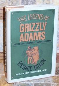 1966 Legend of Grizzly Adams Dillon 1st Ed 1st HBDJ