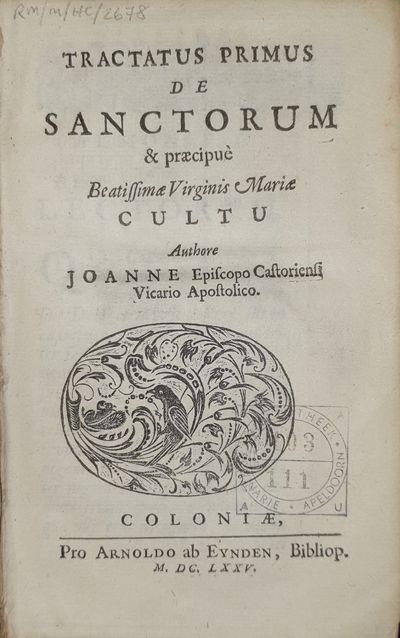 Tractatus Primus[-Tertius] De...