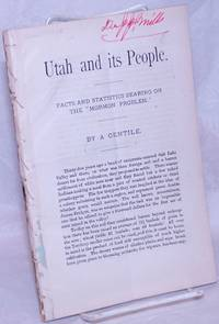 image of Utah and its people: facts and statistics bearing on the