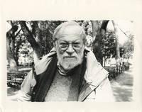 image of Photograph of Amos Vogel by Gerard Malanga, 2004, signed by Malanga