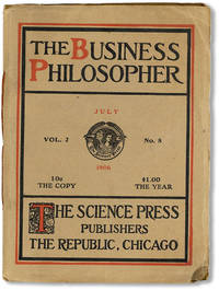 """The Business Philosopher: A Magazine Devoted to the Science of Business and the Principles Determining the Evolution of Success. Vol. 2, no. 8, July, 1906 [alt. title """"Sheldon's Business Philosopher]"""