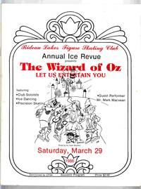 Rideau Lakes Figure Skating Club Annual Ice Revue 1986 The Wizard of Oz