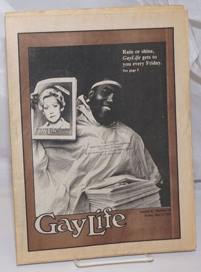 Chicago: YourStyle Pub, 1981. Newspaper. 20p. + 4p. personals, folded tabloid newspaper, photos, col...