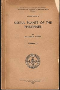 Useful Plants of the Philippines.  Vols 1 - 3.  Technical Bulletin 10